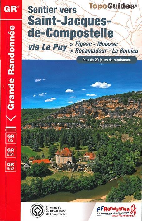 SAINT JACQUES FIGEAC-MOISSAC 2016 -32-46-47-82- GR - 652  Fédération française de la randonnée