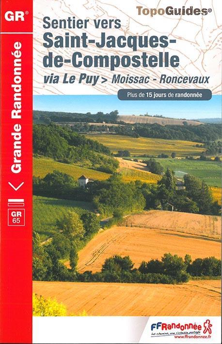 SAINT JACQUES MOISSAC-RONCEVAUX 2017-82-32-40-64-GR-653  Fédération française de la randonnée