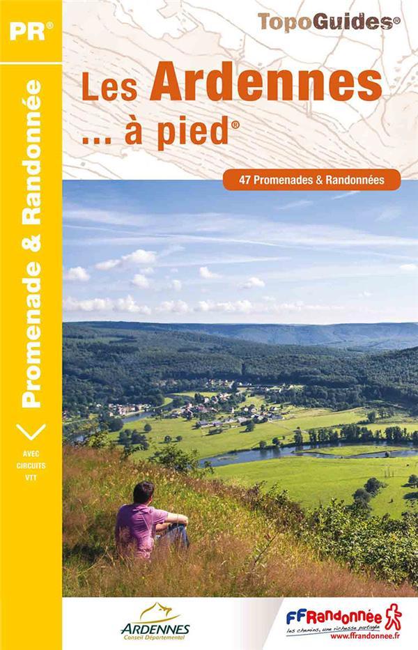 ARDENNES A PIED NED 2017 - 08 - PR - D008  Fédération française de la randonnée