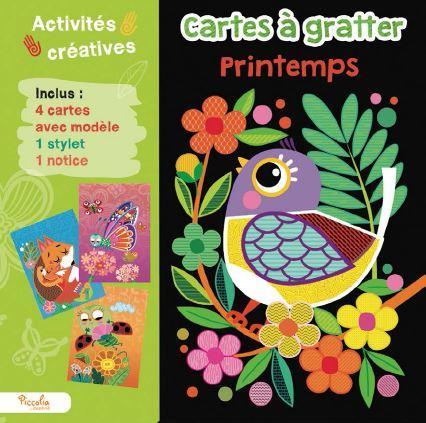 CARTES A GRATTER  -  PRINTEMPS COLLECTIF NC