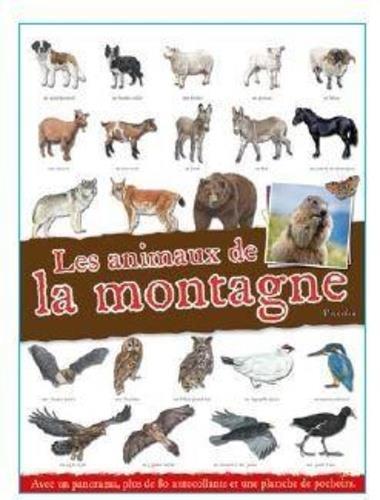 LES ANIMAUX DE LA MONTAGNE COLLECTIF PICCOLIA