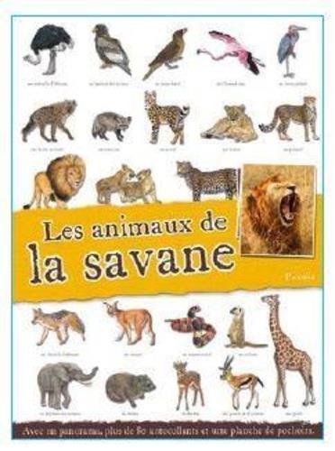 LES ANIMAUX DE LA SAVANE COLLECTIF PICCOLIA