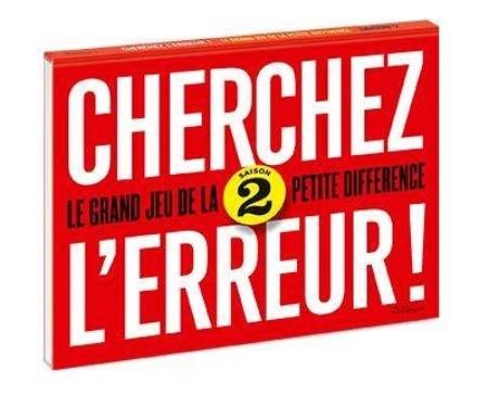 CHERCHEZ L'ERREUR !  -  LE GRAND JEU DES 2 DIFFERENCES  Télémaque
