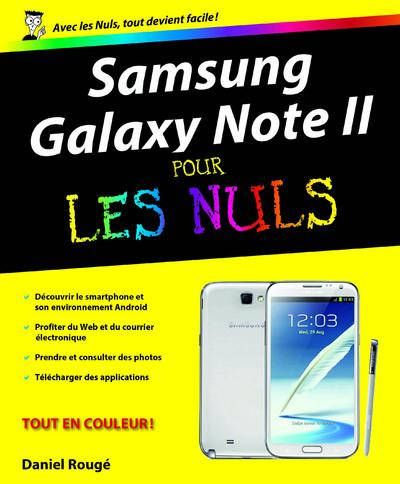 SAMSUNG GALAXY NOTE II POUR LES NULS ROUGE DANIEL First interactive