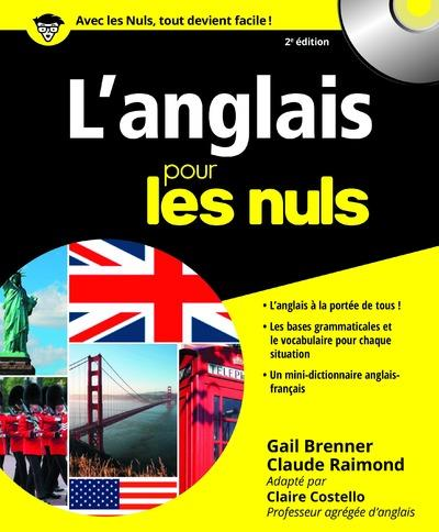 ANGLAIS POUR LES NULS, 2ED Brenner Gail First Editions