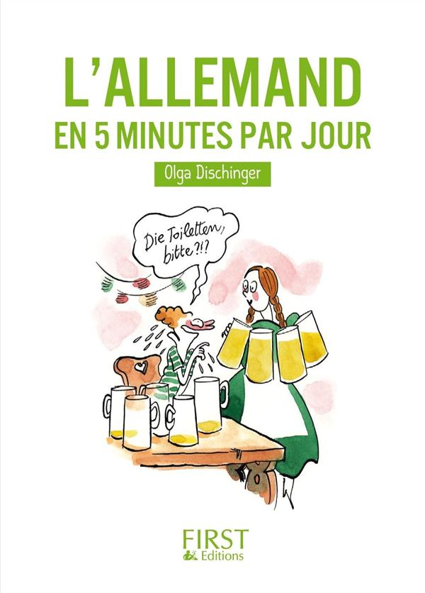 PETIT LIVRE DE - L-ALLEMAND EN 5 MINUTES PAR JOUR