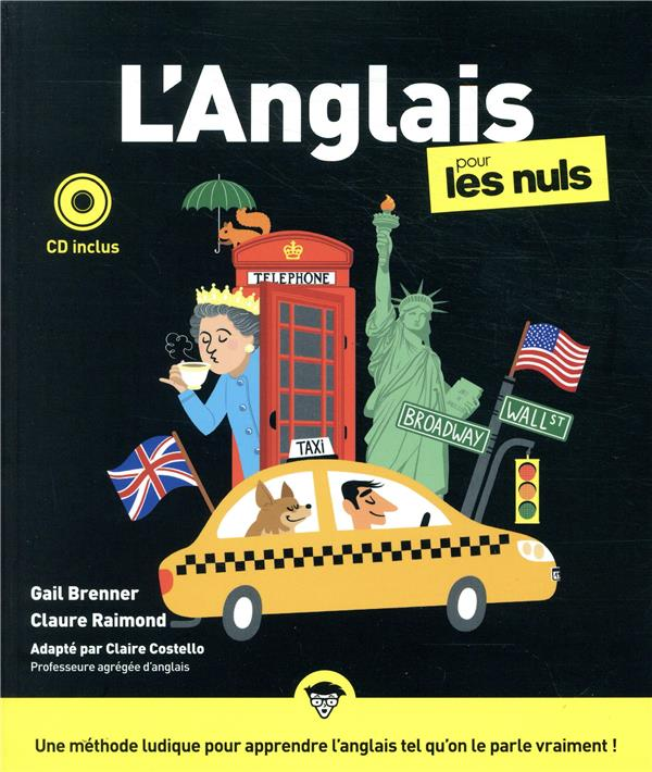 L'ANGLAIS POUR LES NULS (3E EDITION) BRENNER, GAIL FIRST