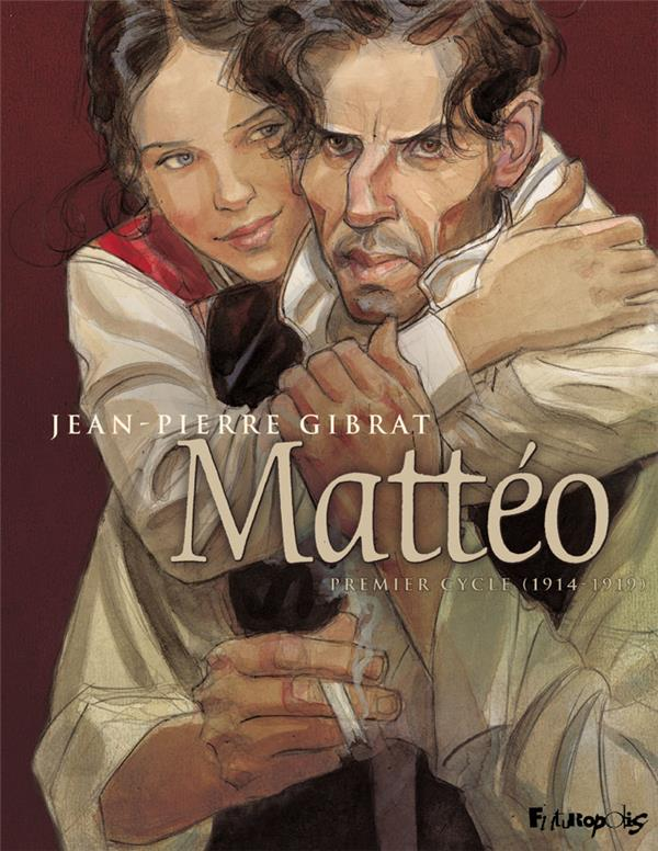 MATTEO INTEGRALE, PREMIER CYCLE GIBRAT, JEAN-PIERRE GALLISOL