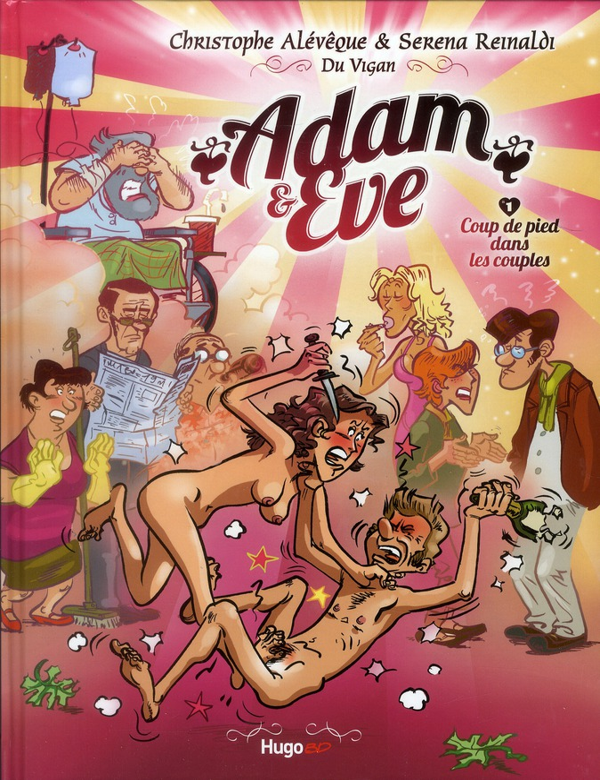 ADAM ET EVE T.1  -  COUP DE PIED DANS LES COUPLES ALEVEQUE/REINALDI HUGO JEUNESSE