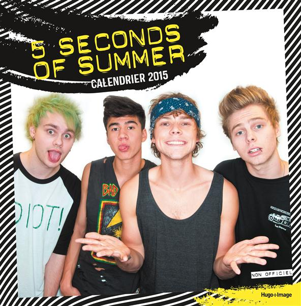 CALENDRIER MURAL 5 SECONDS OF SUMMER 2015 COLLECTIF Hugo Image