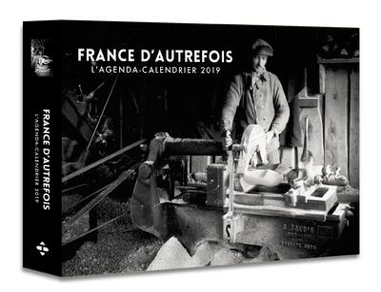 L'AGENDA-CALENDRIER FRANCE D'AUTREFOIS 2019  HUGO JEUNESSE