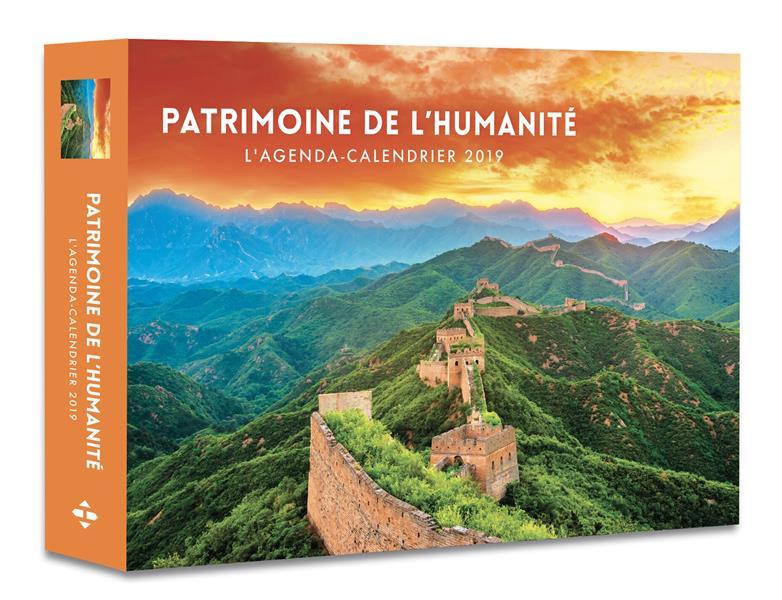 L'AGENDA-CALENDRIER PATRIMOINE DE L'HUMANITE 2019  HUGO JEUNESSE