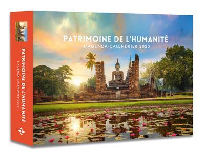 L'AGENDA-CALENDRIER PATRIMOINE DE L'HUMANITE 2020 COLLECTIF HUGO JEUNESSE