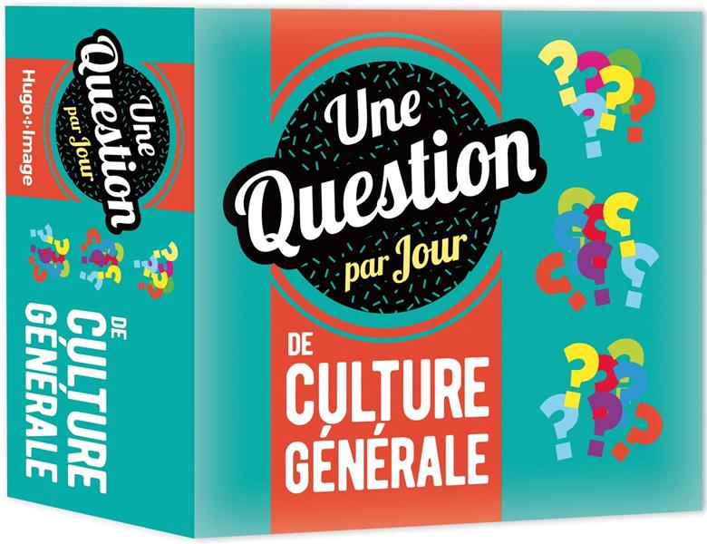 UNE QUESTION PAR JOUR DE CULTURE GENERALE 2020 COLLECTIF HUGO JEUNESSE