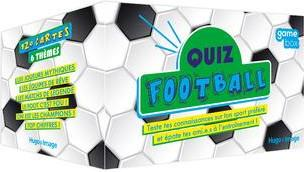 GAME BOX QUIZ FOOTBALL COLLECTIF HUGO JEUNESSE