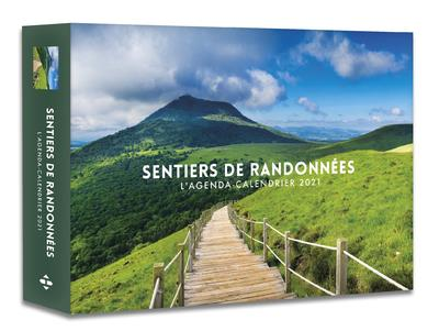 L'AGENDA-CALENDRIER SENTIERS DE RANDONNEES (EDITION 2021) COLLECTIF HUGO JEUNESSE