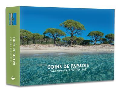 L'AGENDA-CALENDRIER COINS DE PARADIS 2021 COLLECTIF HUGO JEUNESSE