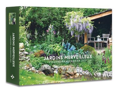 L'AGENDA-CALENDRIER JARDINS MERVEILLEUX 2021