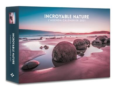 L'AGENDA-CALENDRIER INCROYABLE NATURE (EDITION 2021) COLLECTIF HUGO JEUNESSE
