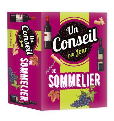 UN CONSEIL DE SOMMELIER PAR JOUR (EDITION 2021) COLLECTIF HUGO JEUNESSE