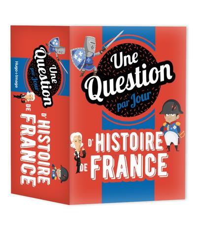 UNE QUESTION D'HISTOIRE DE FRANCE PAR JOUR (EDITION 2021) COLLECTIF HUGO JEUNESSE