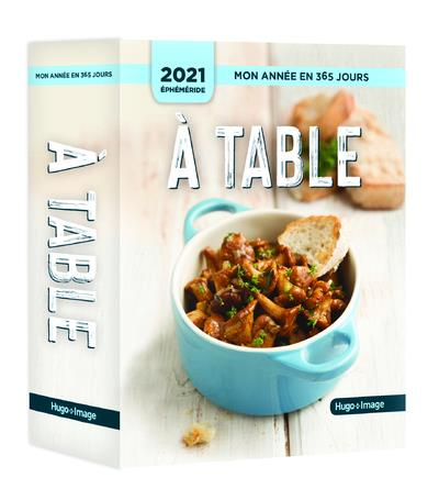 MON ANNEE  -  A TABLE ! (EDITION 2021)