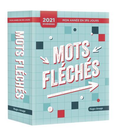 MON ANNEE  -  MOTS FLECHES COLLECTIF HUGO JEUNESSE