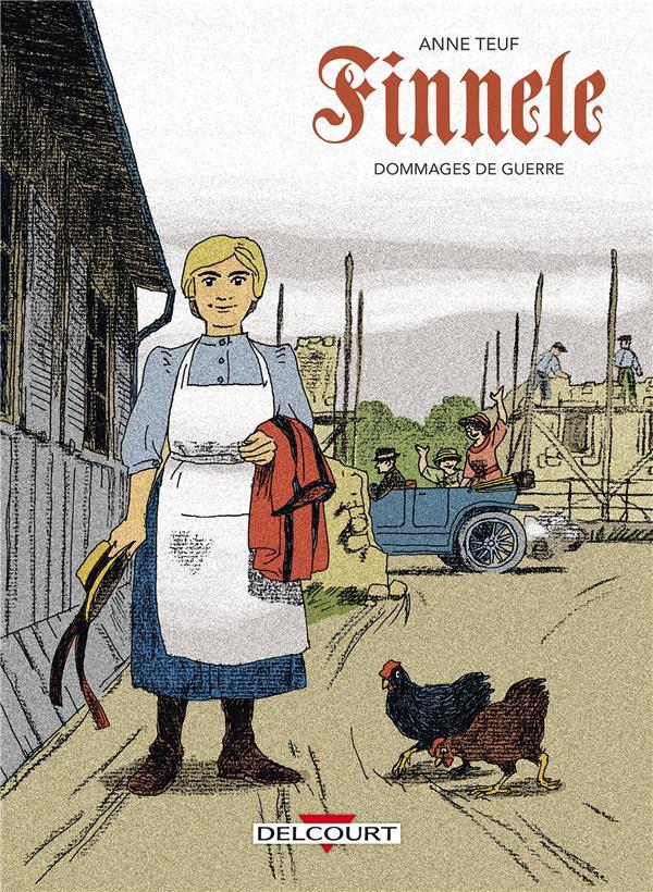 FINNELE T.2  -  DOMMAGES DE GUERRE TEUF ANNE Delcourt
