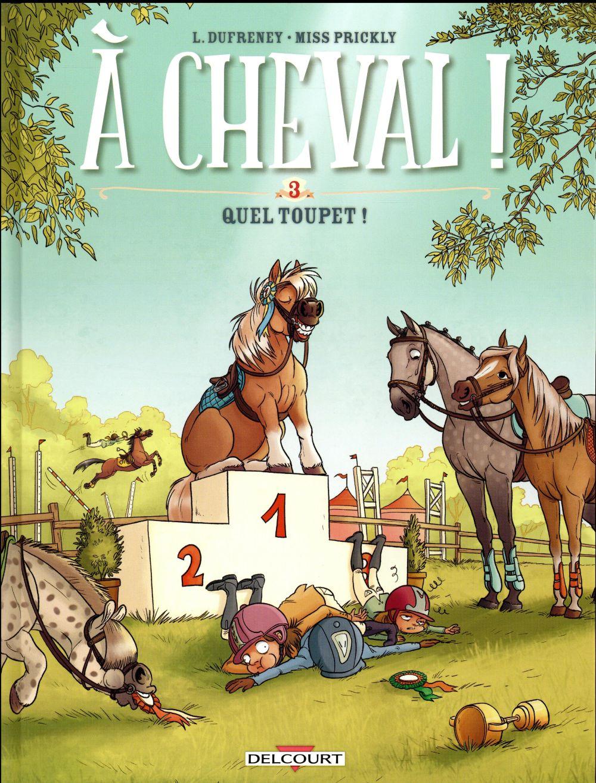 A CHEVAL ! T.3  -  QUEL TOUPET ! DUFRENEY-L+MISSPRICK Delcourt