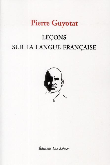 LECONS SUR LA LANGUE FRANCAISE
