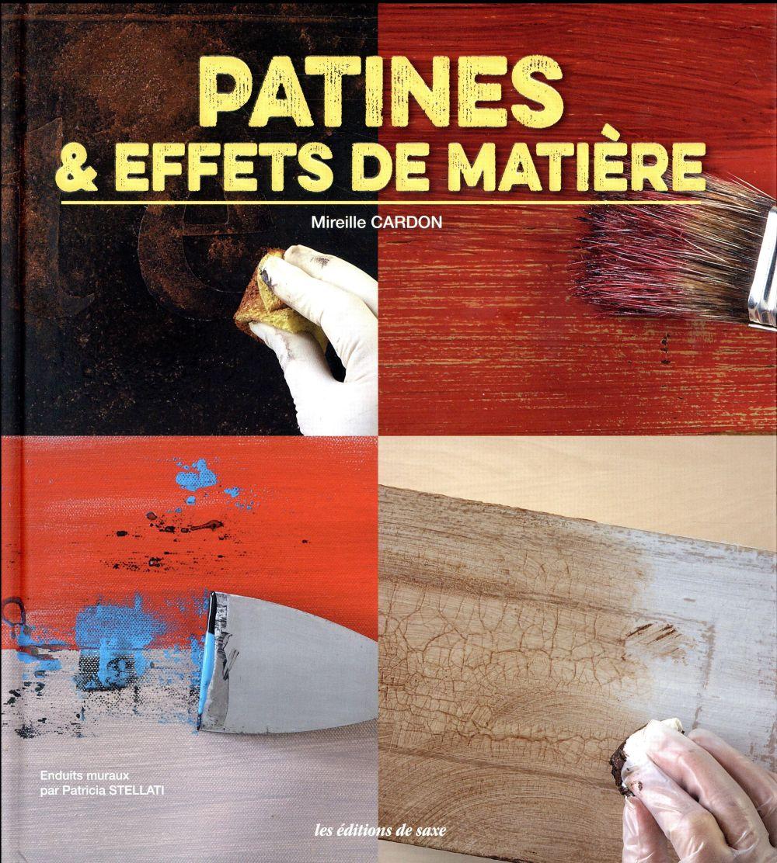 LA PATINE CARDON, MIREILLE Ed. de Saxe