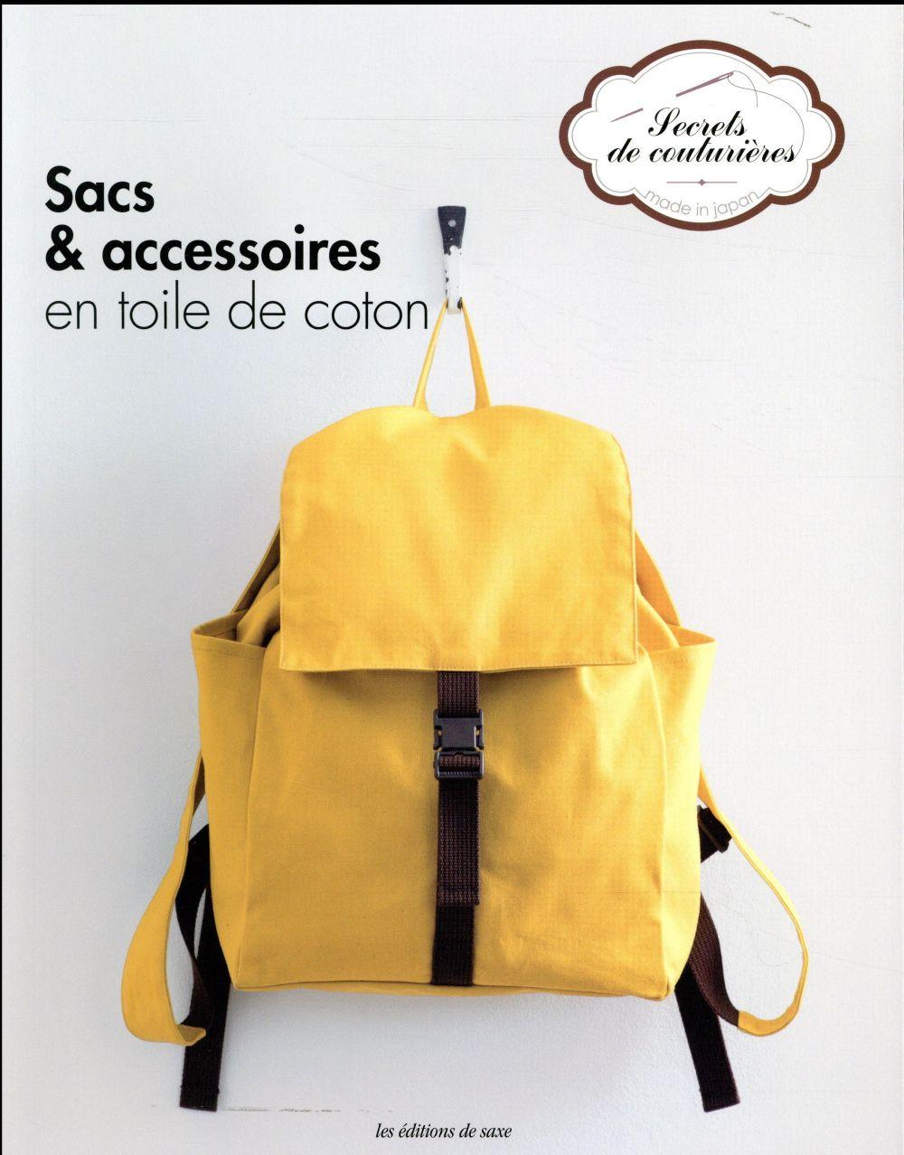SACS & ACCESSOIRES EN TOILE DE COTON COLLECTIF Ed. de Saxe