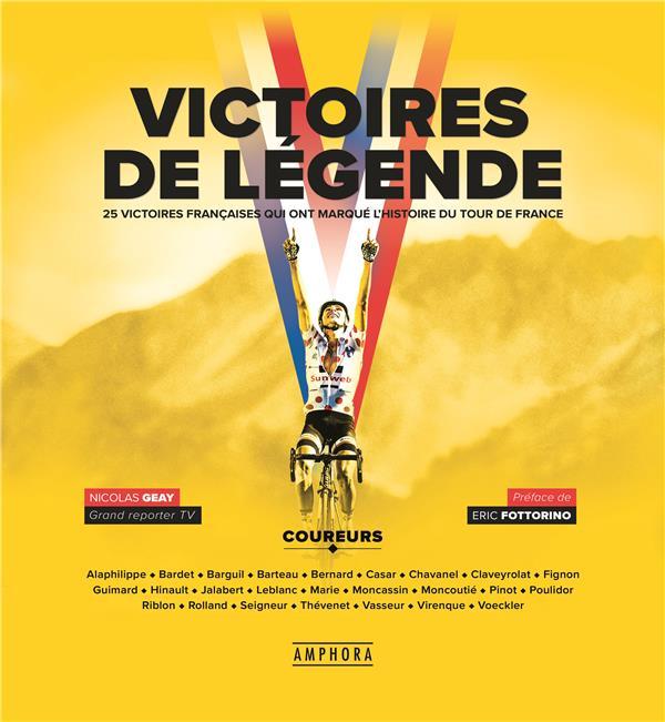 VICTOIRES DE LEGENDE GEAY NICOLAS AMPHORA