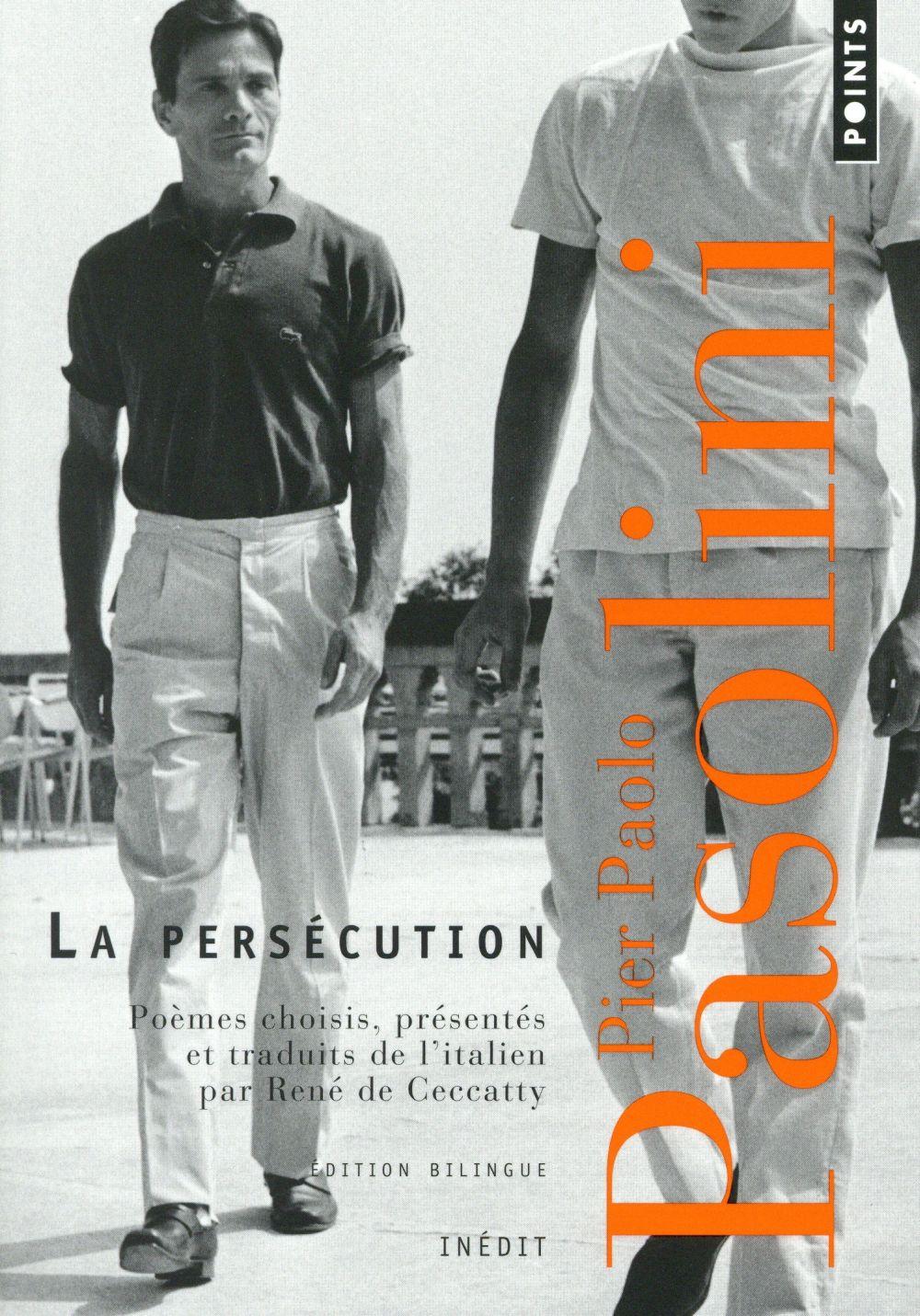 LA PERSECUTION. UNE ANTHOLOGIE (1954-1970)