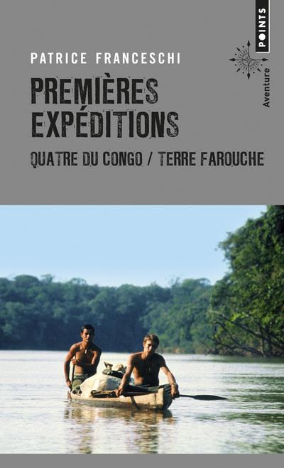 PREMIERES EXPEDITIONS - QUATRE DU CONGO  TERRE FAROUCHE  POINTS
