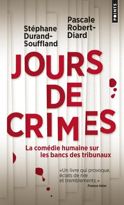 DURAND-SOUFFLAND - JOURS DE CRIMES