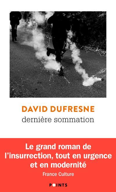 DERNIERE SOMMATION DUFRESNE DAVID POINTS