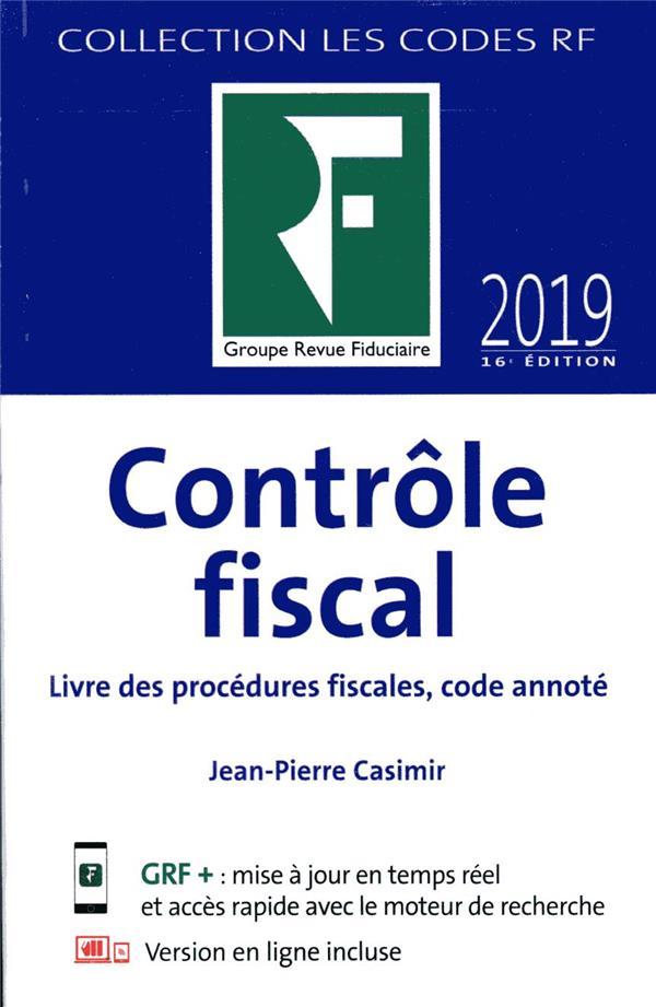 CONTROLE FISCAL (EDITION 2019)