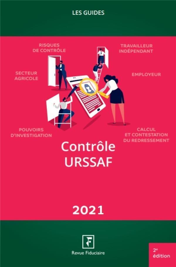 LES GUIDES RF  -  CONTROLE URSSAF (EDITION 2021)