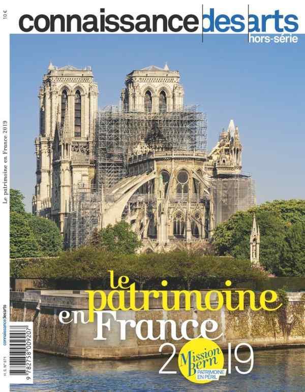 Le Patrimoine En France 2019 CONNAISSANCE DES ARTS L'HARMATTAN