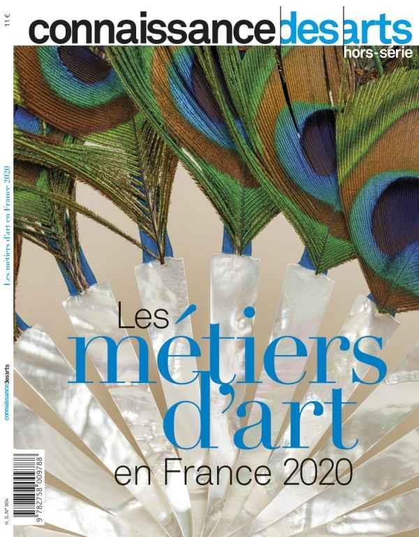 CONNAISSANCE DES ARTS HORS-SERIE N.904  -  LES METIERS D'ART EN FRANCE 2020 CONNAISSANCE DES ART L'HARMATTAN