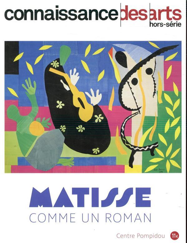 CONNAISSANCE DES ARTS HORS-SERIE N.916  -  MATISSE  -  COMME UN ROMAN