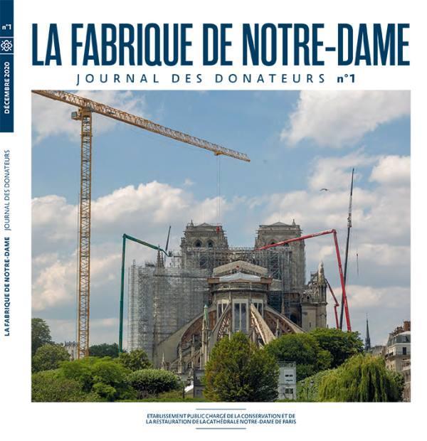 CONNAISSANCE DES ARTS HORS-SERIE  -  LA FABRIQUE DE NOTRE-DAME