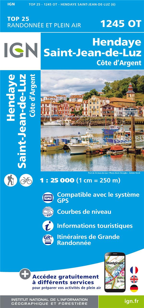 1245OT  -  HENDAYE, SAINT-JEAN-DE-LUZ, COTE D'ARGENT
