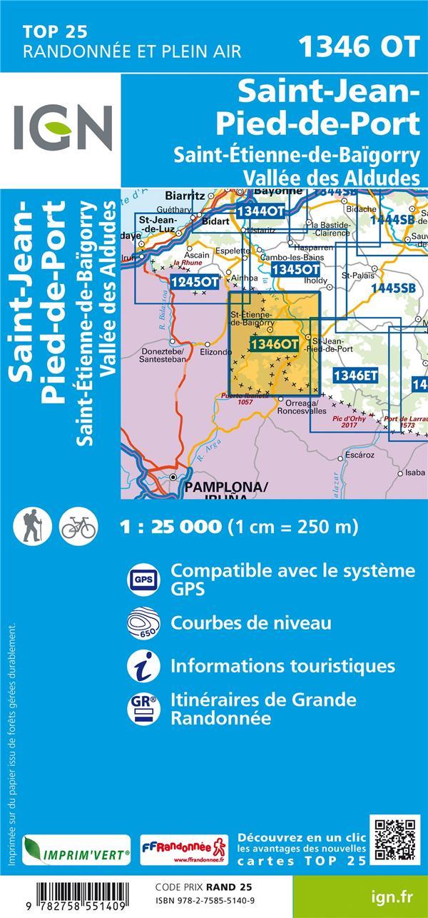 1346OTSAINT-JEAN-PIED-DE-PORT  -  SAINT-ETIENNE-DE-BAIGORRY, VALLEE DES ALDUDES