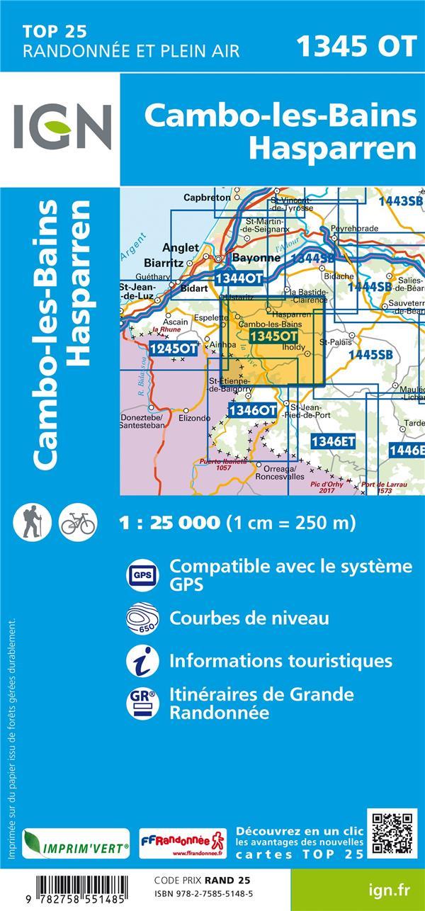 1345OT  -  CAMBO-LES-BAINS, HASPARREN (5E EDITION)