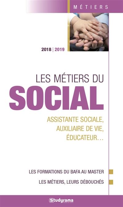 LES METIERS DU SOCIAL 2018 2019