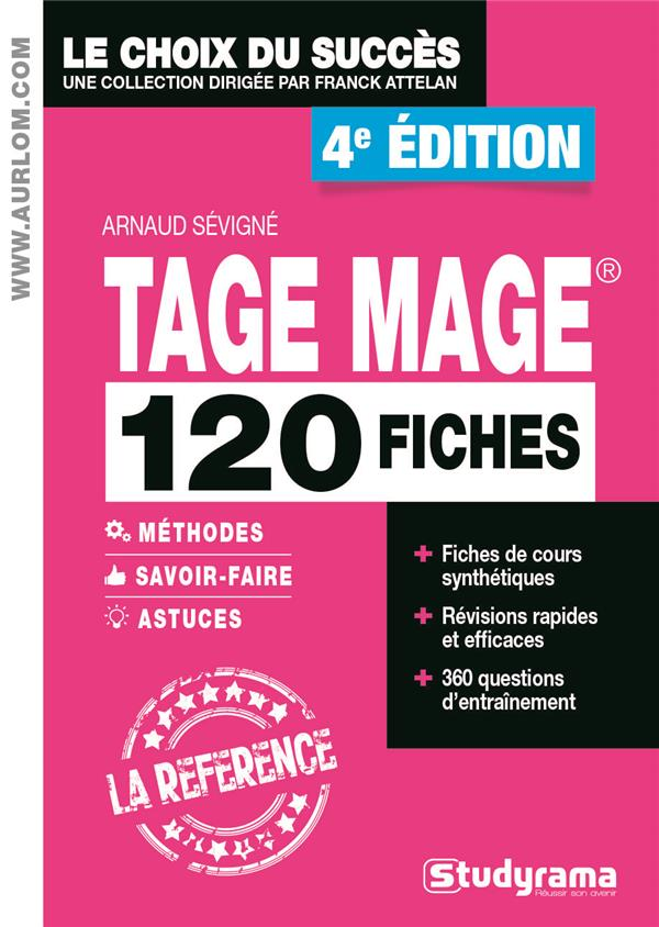 - 120 FICHES TAGE MAGE