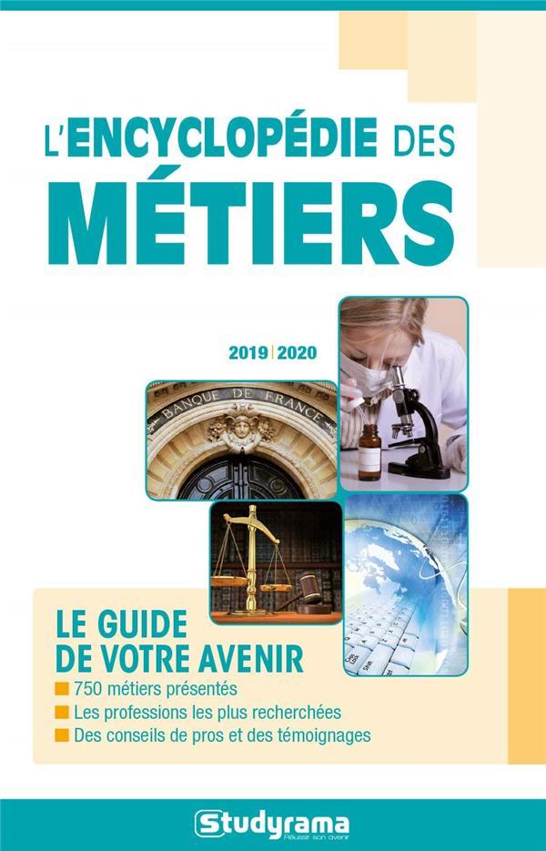 L' ENCYCLOPEDIE DES METIERS COLLECTIF STUDYRAMA