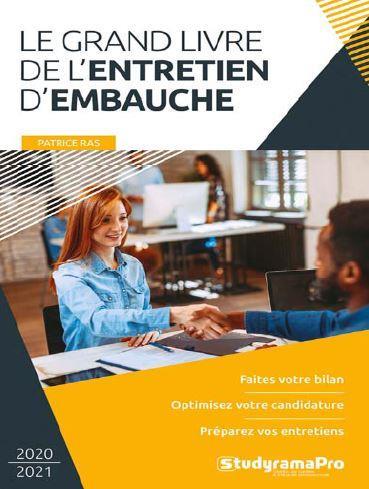 LE GRAND LIVRE DE L'ENTRETIEN D'EMBAUCHE RAS PATRICE STUDYRAMA